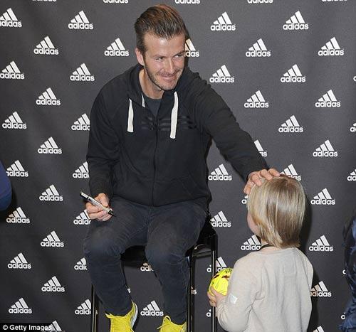 """Becks dành chữ """"nhất"""" tặng Zidane - 4"""