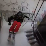 Phi thường - kỳ quặc - Trượt tuyết trong ngôi nhà hoang
