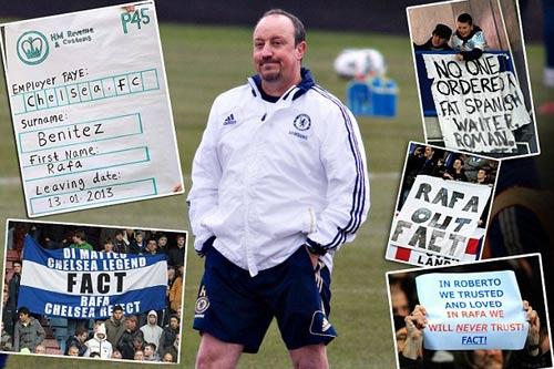 Chelsea & 100 ngày của Benitez: Địa ngục! - 1