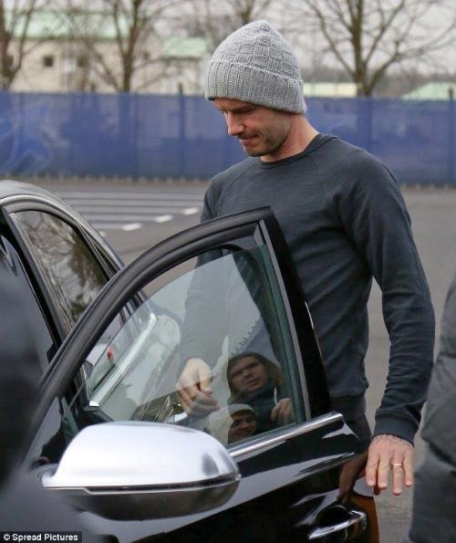 Beckham sắm Audi S8 tại Pháp - 5