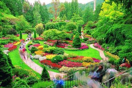 Mướt mắt vẻ đẹp 8 khu vườn nổi tiếng - 1