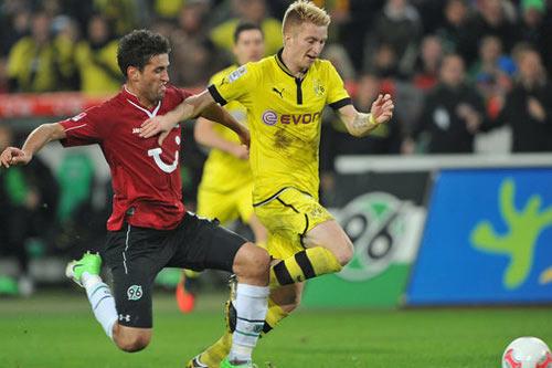Dortmund - Hannover: Giữ vị trí - 1
