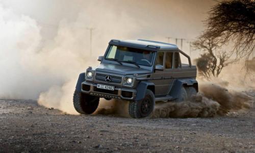 Mercedes-Benz G63 AMG 6x6: 'Đứa con' hoang dã - 1