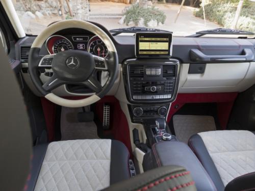 Mercedes-Benz G63 AMG 6x6: 'Đứa con' hoang dã - 10