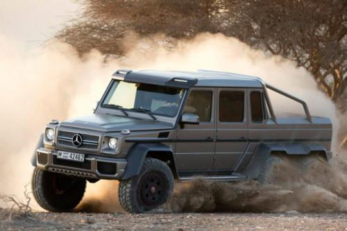 Mercedes-Benz G63 AMG 6x6: 'Đứa con' hoang dã - 3