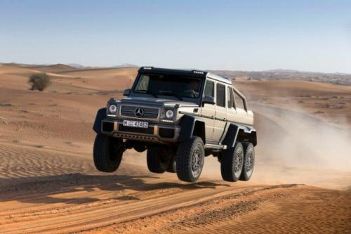 Mercedes-Benz G63 AMG 6x6: 'Đứa con' hoang dã - 5