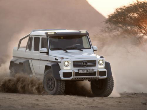 Mercedes-Benz G63 AMG 6x6: 'Đứa con' hoang dã - 6