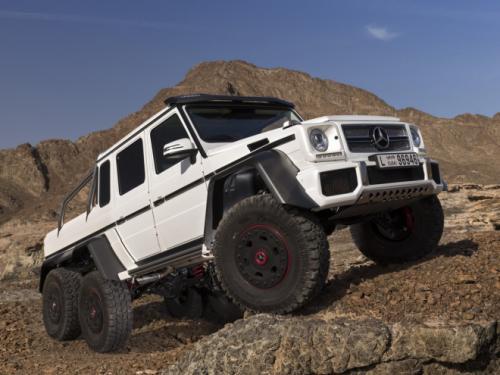 Mercedes-Benz G63 AMG 6x6: 'Đứa con' hoang dã - 8