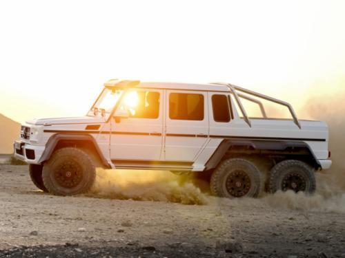 Mercedes-Benz G63 AMG 6x6: 'Đứa con' hoang dã - 9