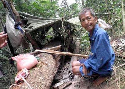 """Gặp ông già """"người rừng"""" ở Tuyên Quang - 2"""