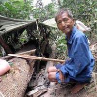 """Gặp ông già """"người rừng"""" ở Tuyên Quang"""