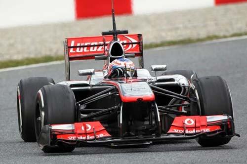 F1: Đợt thử cuối tại Barcelona - 1