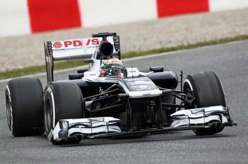 F1: Đợt thử cuối tại Barcelona - 2