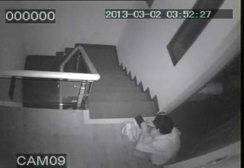 Camera ghi lại cảnh trộm đột nhập nhà giám đốc - 2