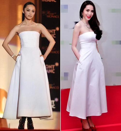 Mỹ nhân Việt, Trung lăng xê mốt váy túi - 11