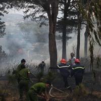 Hà Nội: Cháy rừng ở Sóc Sơn là lớn nhất, lâu nhất trong lịch sử - 2