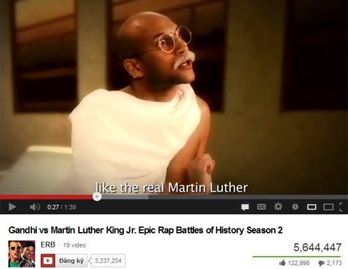 Gandhi vs Martin Luther King cùng sống lại qua nhạc Rap. - 1