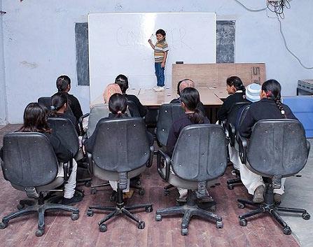 Chuyện của thầy giáo nhỏ nhất thế giới - 1