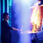 Sao ngoại-sao nội - Thí sinh đốt lửa ra chân dung Huy Tuấn
