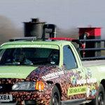 Phi thường - kỳ quặc - Lập kỷ lục xe chạy bằng bã cafe