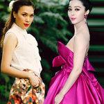 Thời trang - Mỹ nhân Việt, Trung lăng xê mốt váy túi
