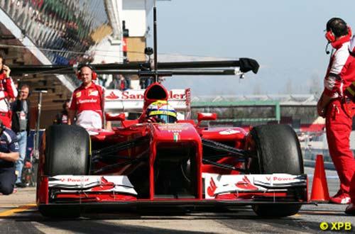 F1: Test xe ngày 3 tại Barcelona - 1