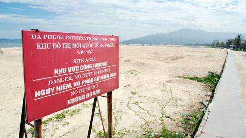 Công bố kết luận thanh tra đất đai ở Đà Nẵng - 1
