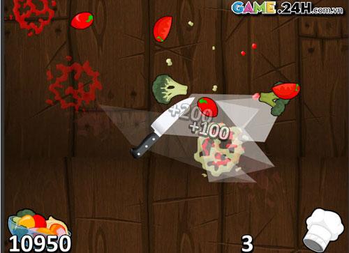 Game hay: Chém hoa quả 3 - 1