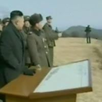 Hình ảnh ông Kim Jong-un giám sát tập trận