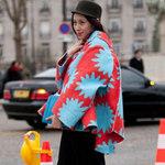 Thời trang - Gặp gỡ cô nàng màu mè trên đất Pháp