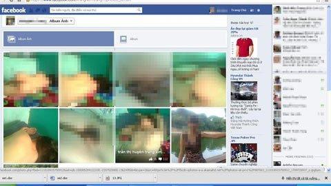 Nữ sinh bị tung hàng loạt ảnh sex lên fb - 1