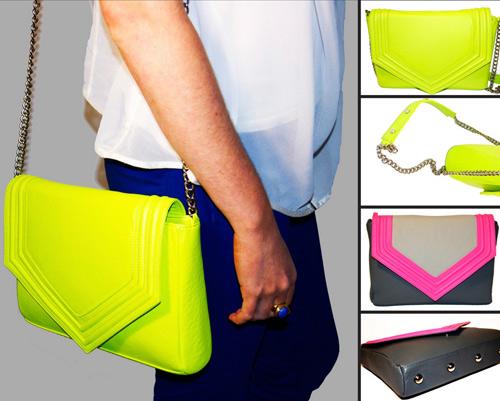 Cùng túi xách màu neon rực rỡ xuống phố - 5