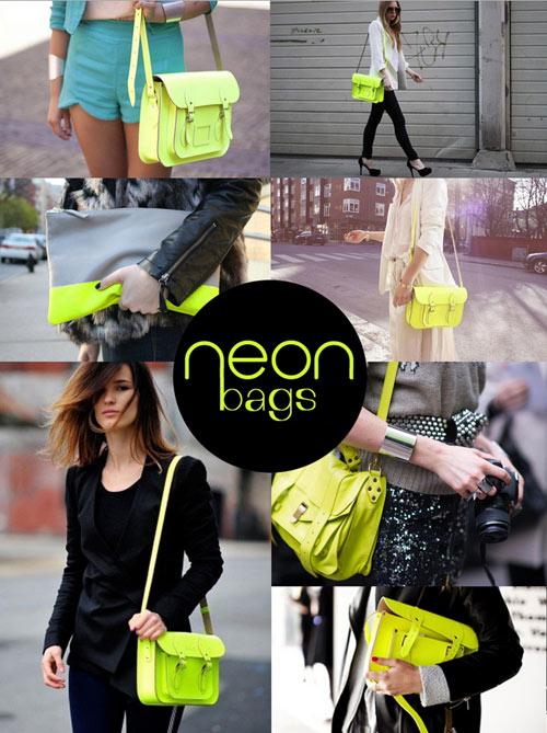 Cùng túi xách màu neon rực rỡ xuống phố - 9