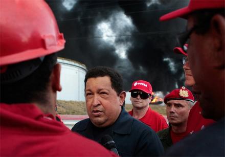 Cuộc đời Tổng thống Hugo Chavez qua ảnh - 13