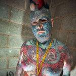 Phi thường - kỳ quặc - Vua hình xăm nước Anh đổi nghệ danh