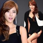 Thời trang - Sao Hàn lúng túng vì váy peplum