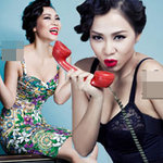 """Thời trang - Thu Minh đã """"sợ"""" hở quá đà!"""