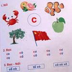 Tin tức trong ngày - Sách học vần tiếng Việt lại vẽ cờ Trung Quốc