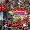 Đông nghịt người đưa linh cữu TT Hugo Chavez