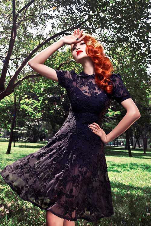Mẫu váy tôn vinh cơ thể phụ nữ - 8