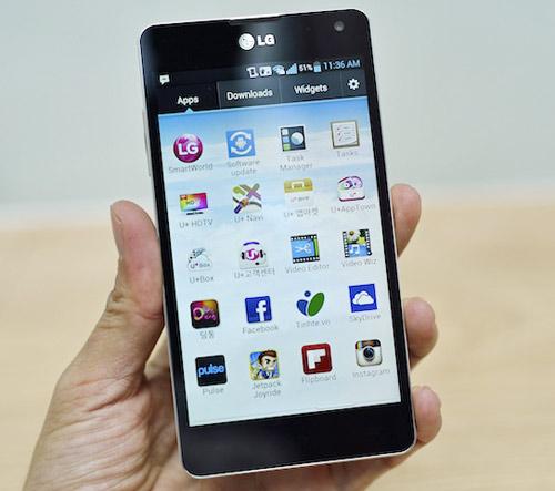 Đánh giá LG Optimus G: Xứng danh smartphone Android - 1