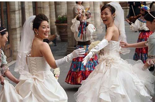 Xôn xao đám cưới hai cô gái Nhật Bản - 6