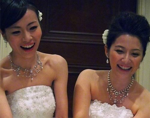 Xôn xao đám cưới hai cô gái Nhật Bản - 3