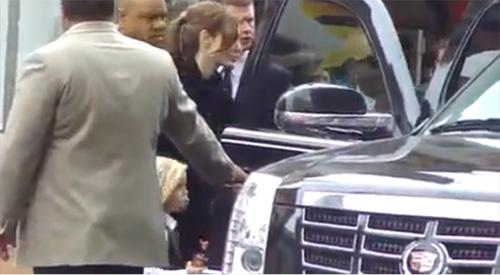 Gia đình Brad Pitt được bảo vệ như Tổng thống - 1