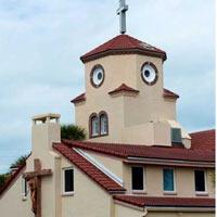"""Ngắm nhà thờ """"mặt gà"""" gây sốt ở Florida"""