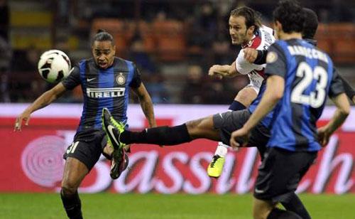 Inter - Bologna: Hiệu ứng domino - 1
