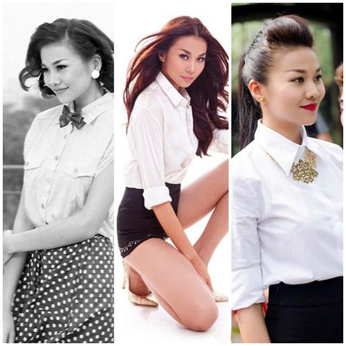 10 sao Việt diện sơ mi đẹp nhất - 1
