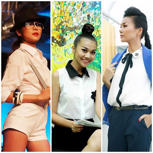 10 sao Việt diện sơ mi đẹp nhất - 2