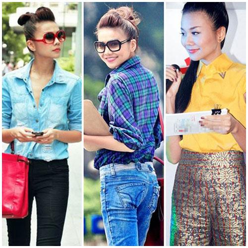 10 sao Việt diện sơ mi đẹp nhất - 3