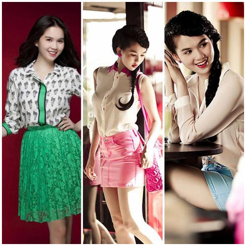 10 sao Việt diện sơ mi đẹp nhất - 12